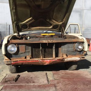 Geelong HK Holden ute restoration