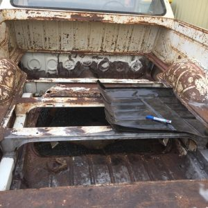 Geelong HK Holden ute tray restoration