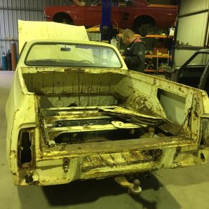 HK Holden classic restoration for Geelong