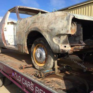 HK Holden restoration Geelong