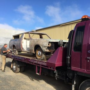 HK Holden restoration for Geelong