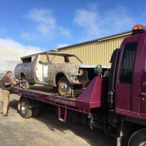 HK Holden restoration for Geelong