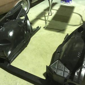 HT Holden sedan restoration