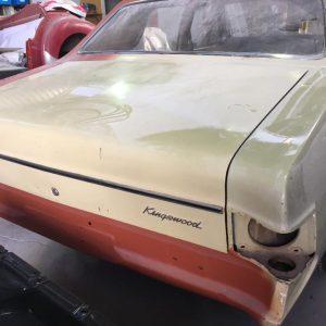 HT Holden classic car restoration
