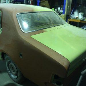 Holden HT Kingswood restoration