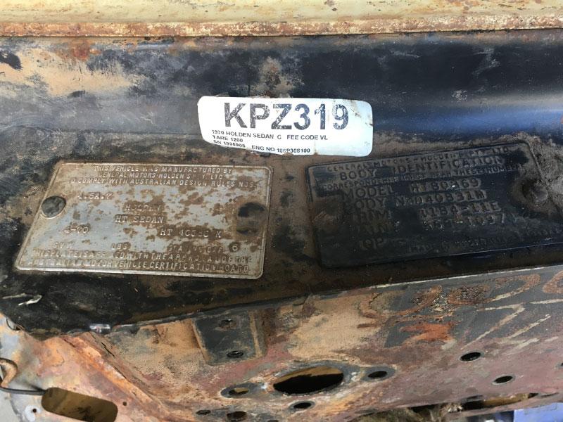 HT Holden Kingswood Sedan Restoration - Catocraft Automotive