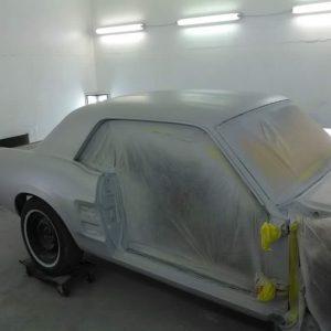 Mustang classic car restoration 1