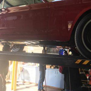 Mustang classic car restoration 10