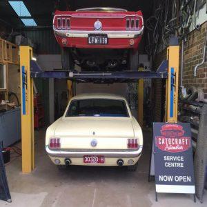 Mustang classic car restoration 11