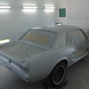 Mustang classic car restoration 2