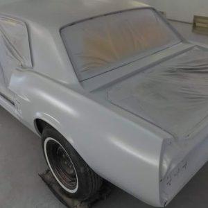 Mustang classic car restoration 3