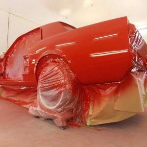 Mustang classic car restoration 5
