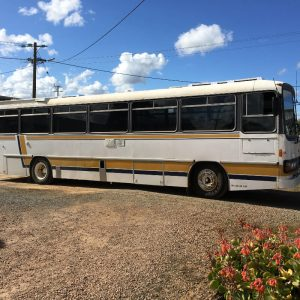 Bus mufflers Echuca. One we repaired