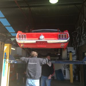 Mustang exhaust pipes Echuca